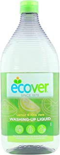 Ecover Washing-Up Liquid (AAA) Lemon and Aloe Vera, 950ml
