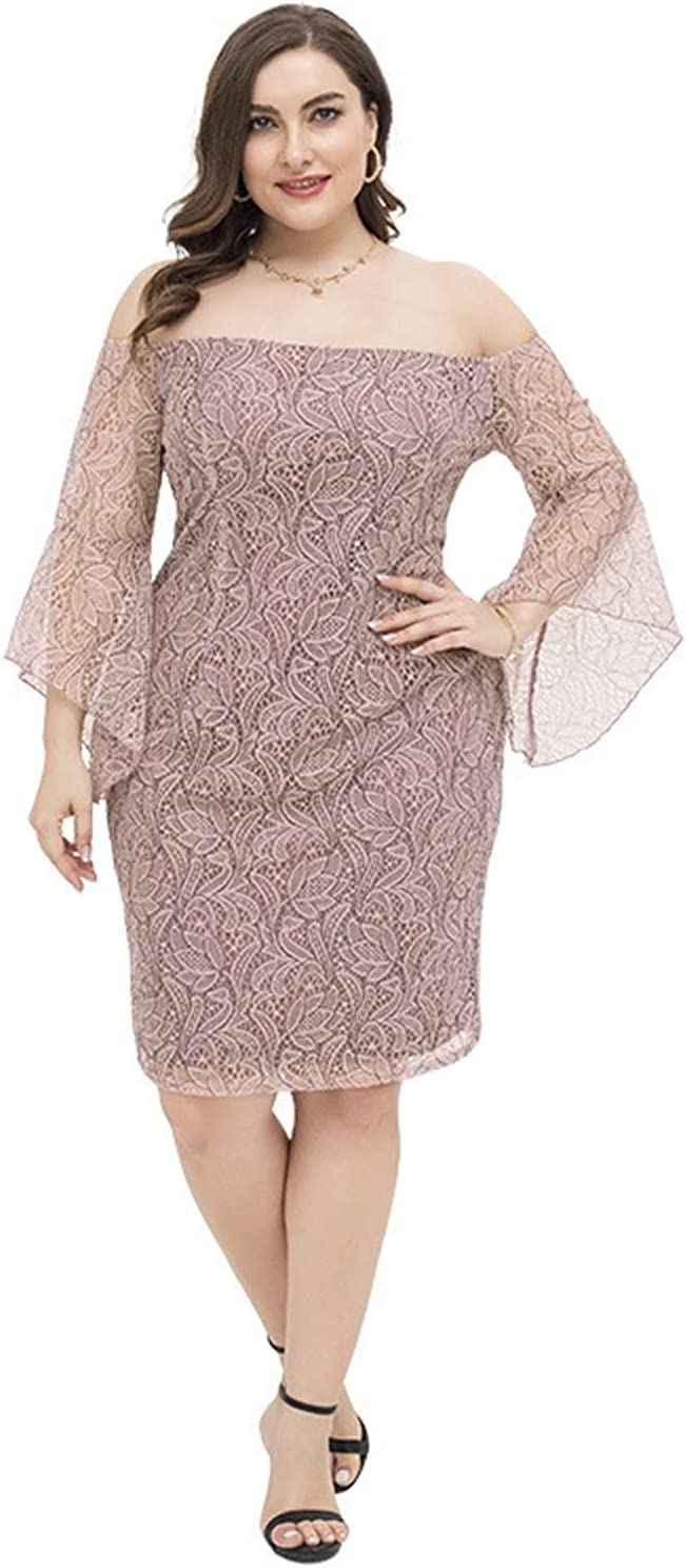 JUNMIN Plus Max 43% OFF Size Women's Spring and Our shop OFFers the best service Fat Girl Style Gentle Summer