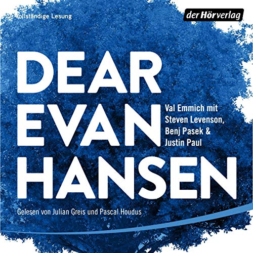 Dear Evan Hansen (German edition) cover art