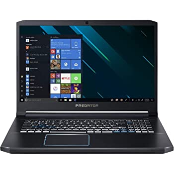"Acer Predator Helios 300 Gaming Laptop PC, 17.3"" Full HD IPS Display, Intel i7-9750H, GTX 1660 Ti 6GB, 8GB DDR4, 512GB PCIe NVMe SSD, RGB Backlit Keyboard, PH317-53-77HB"