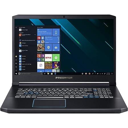 "Acer Predator Helios 300 Gaming Laptop PC, 17.3"" Full HD IPS Display, Intel i7-9750H, GTX 1660 Ti 6GB, 8GB DDR4, 512GB PCIe NVMe SSD, RGB Backlit Keyboard, PH317-53-77HB"