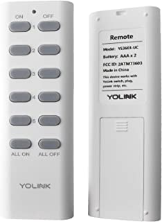 YoLink Remote 500 Feet World's Longest Range Smart Remote...