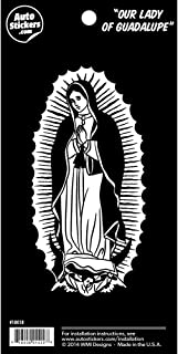 "Our Lady of Guadalupe 5.5"" Vinyl Car Sticker Decal"