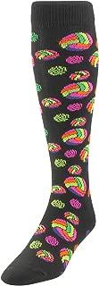 TCK Sports Krazisox Neon Volleyballs Socks