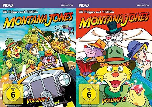 Montana Jones – Complete Collection - alle 52 Folgen der erfolgreichen Anime-Serie 8 DVD Limited Edition Pidax Animation