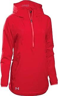 Under Armour Women's Squad Woven 1/2 Zip Jacket