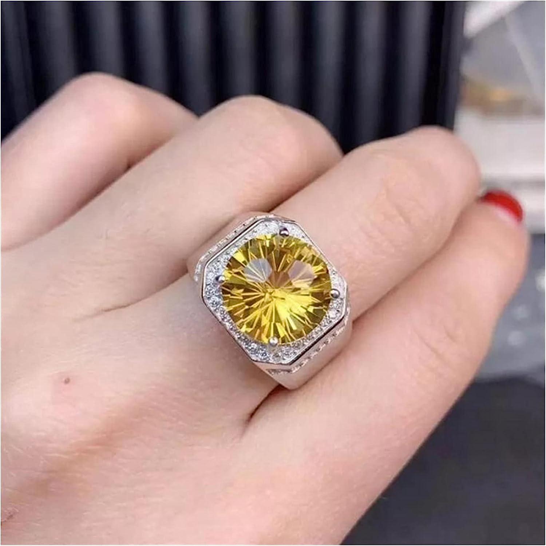 Ring Luxury Round Full Crystal Wedding SALENEW very popular! Men' Rings Women Max 79% OFF Punk for