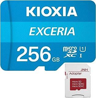 microSDXC 256GB EXCERIA 超高速UHS-I KIOXIA + JNHオリジナルSDアダプター + 保管用クリアケース [並行輸入品]
