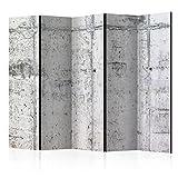murando Biombo Concreto Hormigon 225x172 cm de Impresion Unilateral en el...