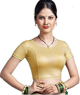 PRE SMART cotton stretchable saree blouse for women