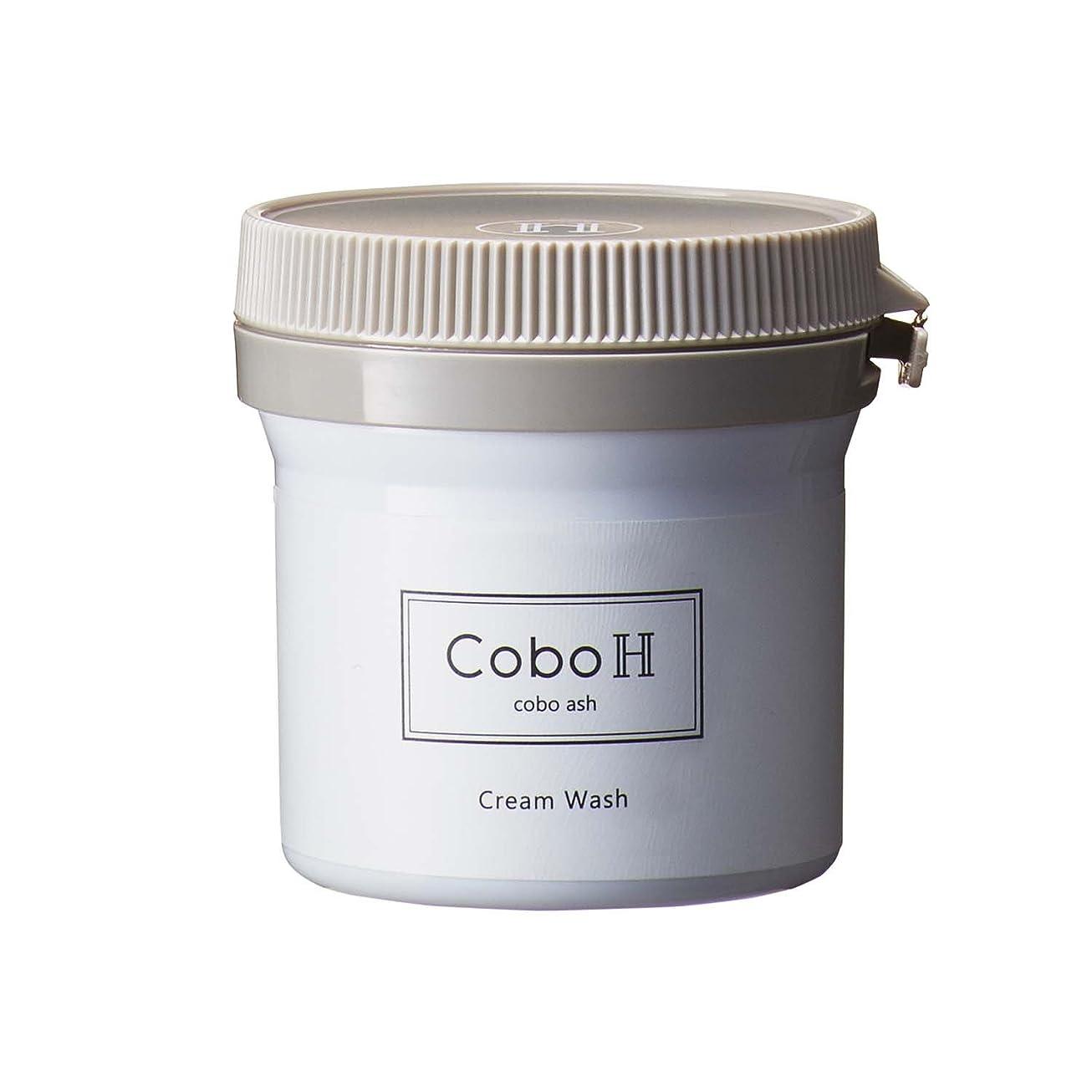 相関するセンチメンタル月CoboH コーボアッシュ くりーむウォッシュ 洗顔クリーム 80g