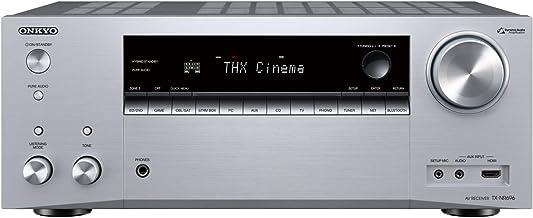 Onkyo TX-NR696(S) Receptor AV 7.2 (Sonido THX Cinema, Dolby/DTS:X, WiFi, Bluetooth, Streaming, Apps de música, Spotify, Deezer, Radio, Multiroom, 175 W/Canal), Plateado