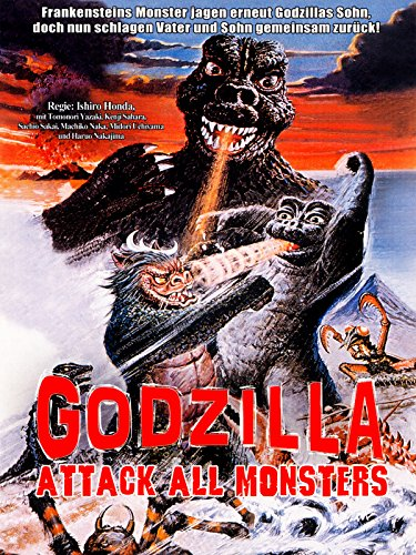Godzilla: Attack All Monsters