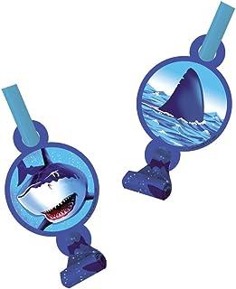 Creative Converting 21887 Party Supplies, One Size, Shark Splash