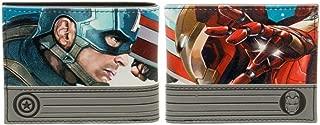 Captain America: Civil War Bi-Fold Wallet 5 x 4in