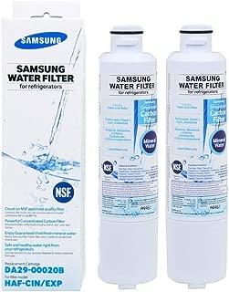 Samsung DA29-00020B Refrigerator Water Filter, Replacement for Samsung HAF-CIN/EXP Fridge Filter (2-Pack)