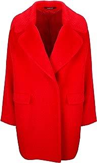 TAGLIATORE Luxury Fashion Womens ASTRID67021R1174 Red Coat | Fall Winter 19