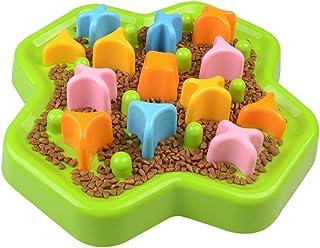 Pet Slow Food Bowl Non-slip Anti-choke Feeding Toy Dual Purpose Cat Dog Bowl