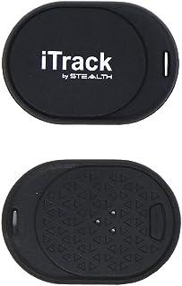 Stealth iTrack - Dispositivo de Seguimiento - Buscador de Teclas - Localizador de teléfono móvil - Dispositivo antirrobo para teléfonos Inteligentes - Rastreador (Azul - Pequeño)