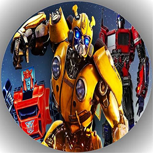Fondant Tortenaufleger Tortenbild Geburtstag Transformers T22