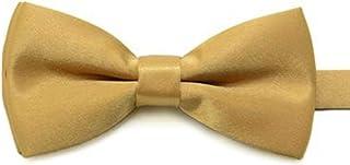 New Fashion Children Kids Boys Toddler Infant Solid Bowtie Pre Tied Wedding Bow Tie Necktie H9