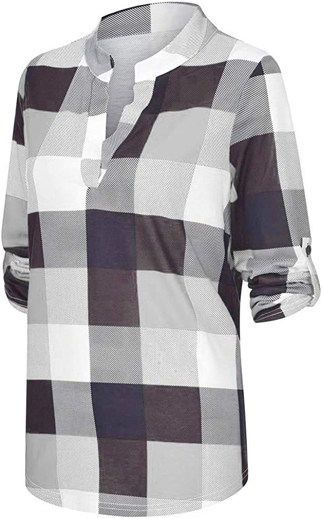 COOKI Womens Crewneck Striped Printed Pullover Sweatshirt Long Sleeve Shirts Casual Loose Soft Oversized Blouse Tunic Tops