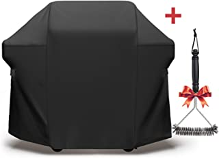 SHINESTAR 7106 Gas Grill Cover for Weber Spirit Grill, Grill Cover Heavy Duty Waterproof Fits for Weber Spirit 310/Weber Spirit 210, Fits for Weber Spirit 2 & 3 Burner Grill