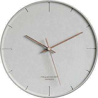 Wall Clock Decor غرفة المعيشة ساعة الحائط الحديثة ساعة 12 بوصة ساعة حائط صامتة صامتة غير تدق سهلة القراءة الرئيسية/مكتب/مد...