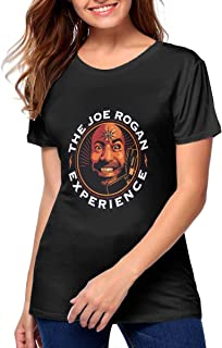 Teenagerghlovexc Casual The Joes Rogan Experience T Shirts for Women Great Match with Jeans,Pants,Leggings,Shorts