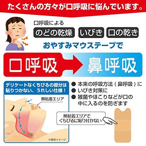 口閉じテープおやすみマウステープ40枚入増量タイプ日本製