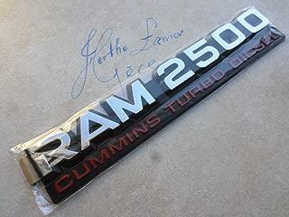 94-02 Dodge Ram 2500 Cummins Turbo Diesel 55295311AB Logo Emblem Decorative Decal Ornament