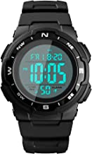 SKMEI Men's Sports Digital Watches, Military Outdoor Waterproof Wrist Watch Multifunction Large Face Watches for Men