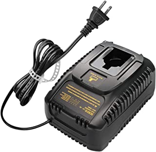DC9310 Replacement Fast Battery Charger Compatible with Dewalt 7.2V-18V Ni-CD and Ni-MH Battery DW9057 DC9071 DC9091 DC9096 DW9072 DW9091(NOT for Lithium Batteries)