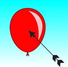 arrow in the sky