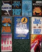THE DARKEST EVENING OF THE YEAR-THE KEY TO MIDNIGHT-THE HOUSE OF THUNDER-FRANKENSTEIN BOOK ONE PRODIGAL SON-ICEBOUND-BROTHER ODD-STRANGERS-THE SERVANTS OF TWILIGHT-THE DEAN KOONTZ COMPANION