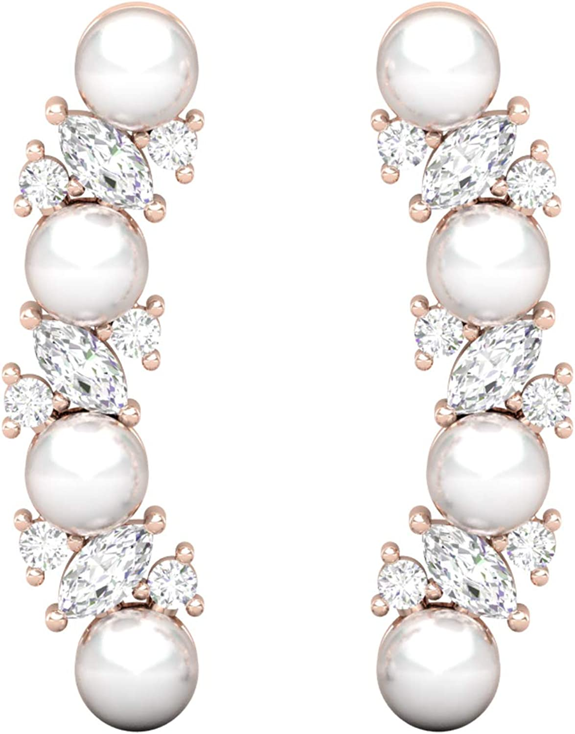 mart Pearl Helix Earring sold out Tragus Piercing Wo For Stud Earrings