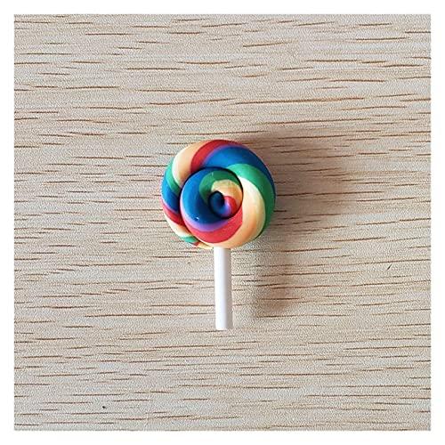 YSJJWDV Imanes para Nevera Lollipop de Nevera, Colores del Arco Iris, para el Calendario de Oficina, decoración de la Pizarra (Couleur : 02)