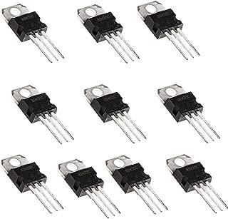 10 valores: BC337, BC327, 2N2222, 2N2907, 2N3904, 2N3906 Juego de herramientas de surtido de transistores de silicio de 200 piezas 10 valores
