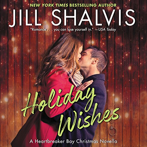 Holiday Wishes audiobook cover art
