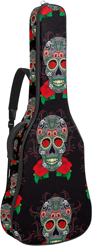 Electric Complete Free Shipping Guitar Over item handling Bag Padded Sh Acoustic Adjustable Gig