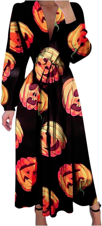 ORT Dresses for Women Sexy Plus Size, Womens Plus Size Midi Dresses Summer Casual Boho V Neck Sleeveless Loose Maxi Dress