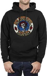 MUSOWIC Mens Sweatshirts Fleece Stream-Release-American-rock-band-5-1- Hoodies Winter Hoodie