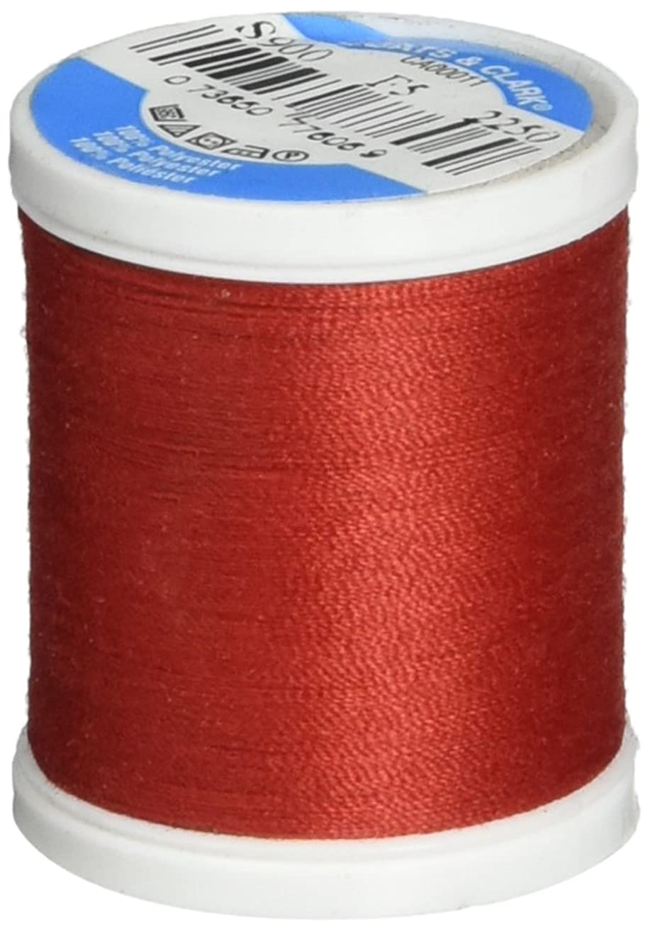 Coats Thread & Zippers Dual Duty XP General Purpose Thread, 125-Yard, Red