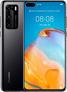 هاتف هواوي بي 40 (5 جي) ANA-NX9 ثنائي/ شريحة اتصال هايبرد بذاكرة داخلية 128 جيجا، مفتوح من المصنع - النسخة العالمية