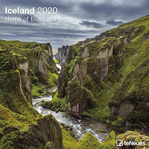 Iceland - Home of Elves and Trolls 2020 - Island 2020 - Broschürenkalender - Wandkalender - Fotokalender - 30x30cm