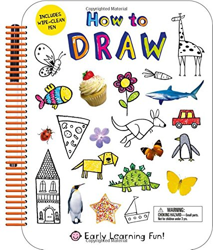 How to Draw: Includes Wipe-Clean Pen (Early Learning Fun)