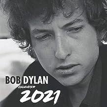 Bob Dylan Calendar 2021: Special Monthly Calendar 2021 for Music Fans