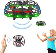 $21 » Mini Drone for Kids,Hand Operated Drones with 360° Rotating and LED Light,Hands Free Mini Drone,Easy Indoor Outdoor Hand C...