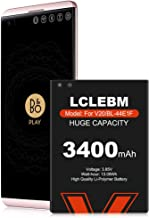 LG V20 Battery, LCLEBM [Upgraded] 3400mAh BL-44E1F Li-Polymer Replacement Battery for LG V20 BL-44E1F H910 H918 LS997 US996 VS995/V20 BL-44E1F [12 Month Warranty]