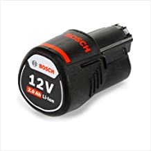 Bosch Professional 1600Z0002X Li-Ion Batteria, 12 V, 2.0 Ah, O-B, 175 g